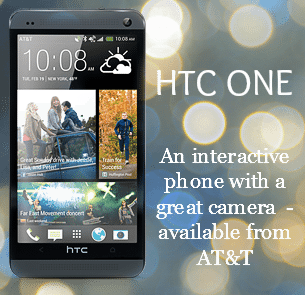 HTC One available at AT&T - ad