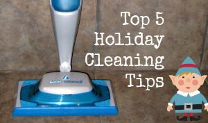 Top 5 Holiday Cleaning Tips @swiffer #steamboost