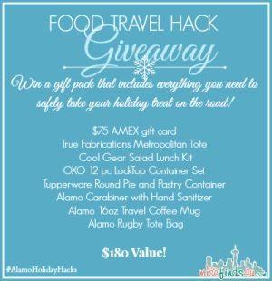 Holiday Travel Hacks Giveaway #AlamoHolidayHacks   Ad