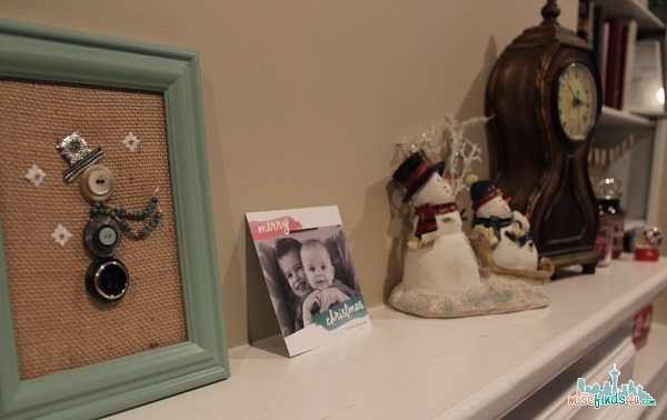 Rock the Top of the Mantel with Cardstore #MC Sponsored