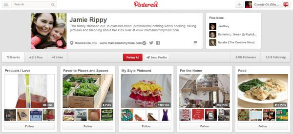 Jamie Rippy Pinterest Boards