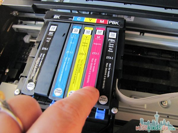 Loading the Ink Cartridges