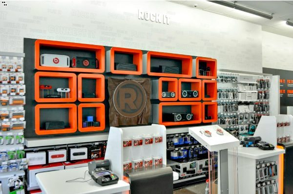 RadioShack Speaker Wall - Gifts for the Techie - RadioShack Tech Gifts  #RadioShack #MC