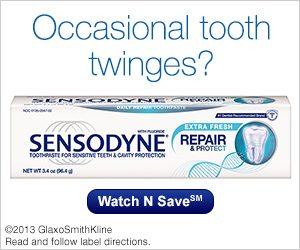 Sensodyne® Repair and Protect – Sensitive Teeth Protection