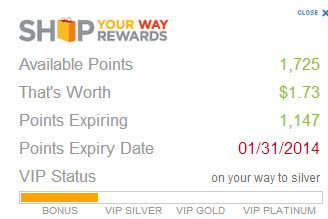 Shop Your Way Rewards Points - Free membership -  #shop #ThisisStyle #cbias