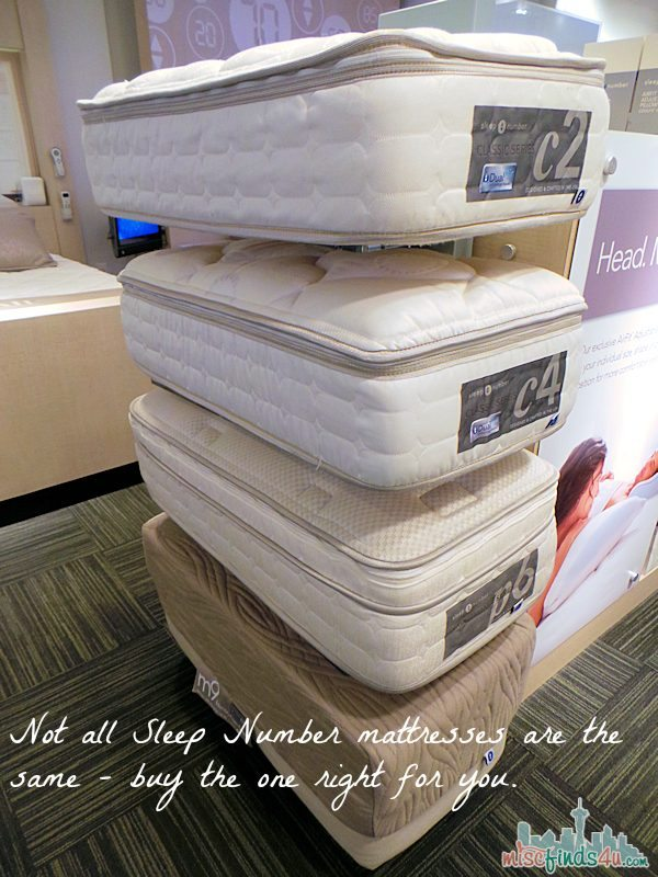 Sleep Number Mattresses are not the same - buy the one right for you - sleep number bed  - AD