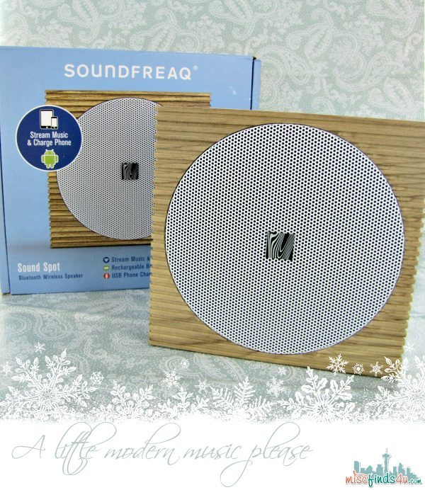 Soundfreaq Sound Spot - gifts for techies  #MC Sponsored