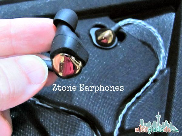 Ztone Earplugs Unique  Shape