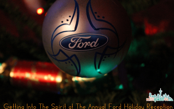 Getting Into The Spirit at The Annual Ford Holiday Reception