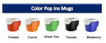 CorningWare Color Pop Ins Mugs