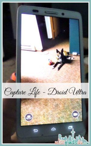 Droid Ultra Video Capture - #VZWBuzz ad