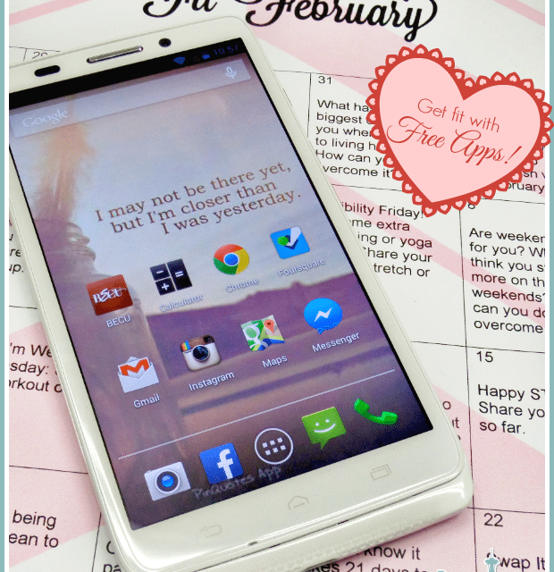 Fit February with my Droid Ultra – Free Fitness Apps #VZWBuzz #Droid
