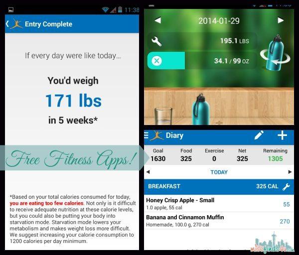 Free Fitness Apps   #VZWBuzz ad
