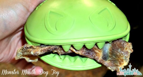 Happy Dog Box Toy - Monster Mouth Dog Toy - ad