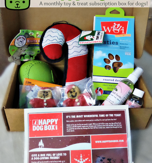 Subscription Boxes For Dogs: HappyDogBox.com