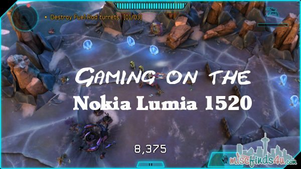 Nokia Lumia 1520 Gaming