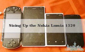 Nokia Lumia 1520 Size