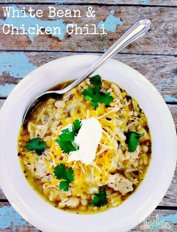 White Bean and Chicken Chili Recipe