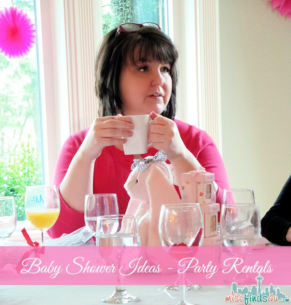 Baby Shower Ideas: Party Rentals