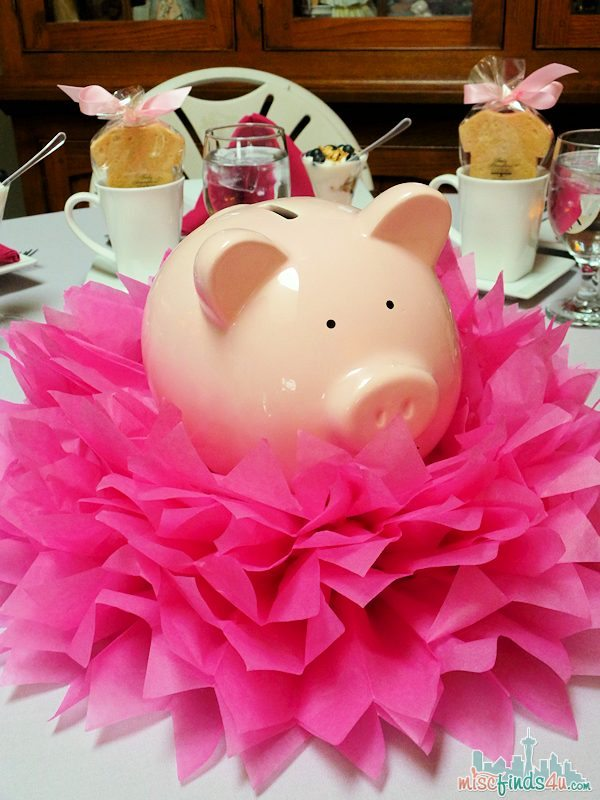 Baby Shower Ideas - Simple Centerpieces