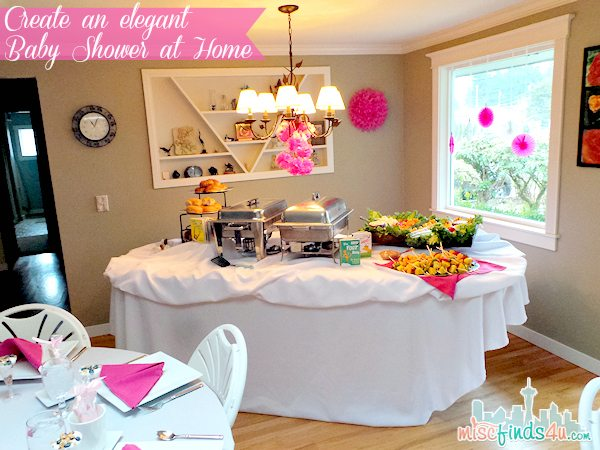 Baby Shower decor - Create and elegant party at home