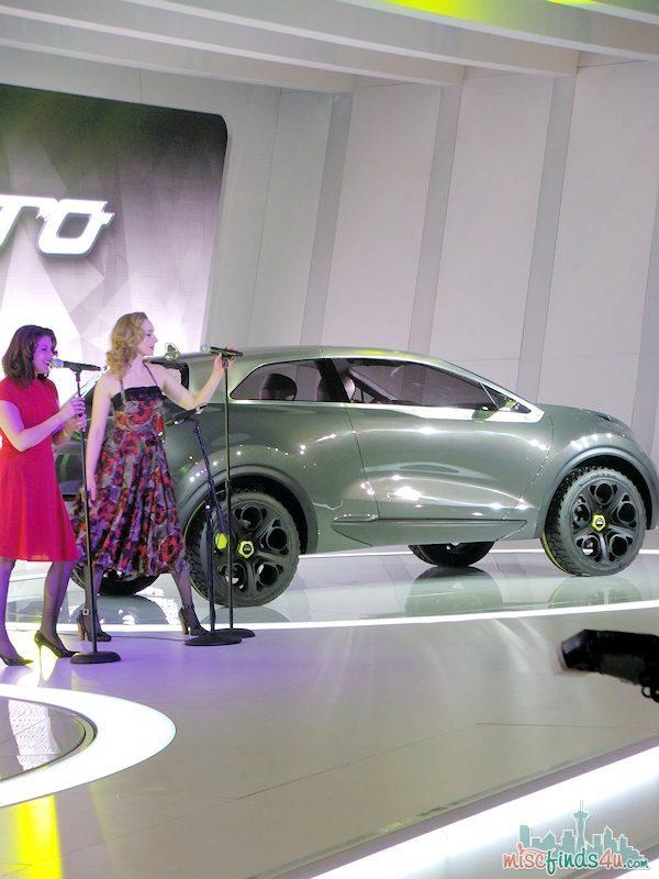 Chicago Auto Show 2014 Kia Niro Concept #Car fuelCAS ad