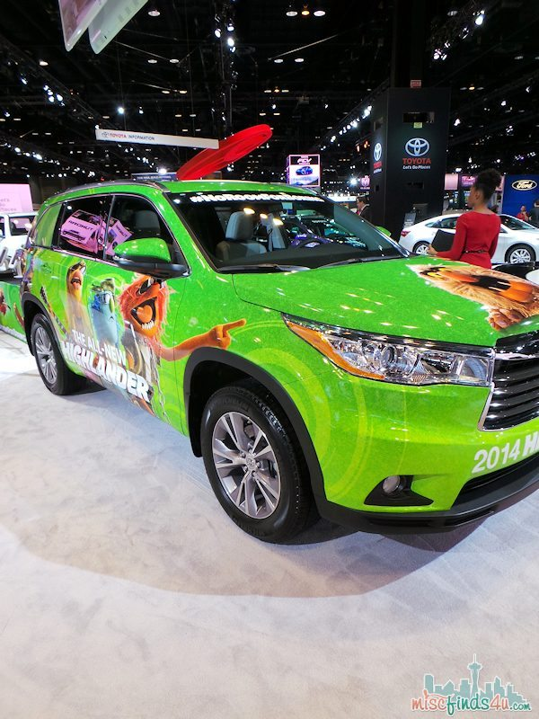 Chicago Auto Show 2014 Muppets #fuelCAS ad