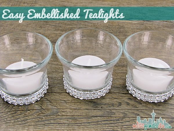 DIY tealights
