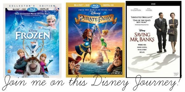 Frozen, Pirate Fairy and Saving Mr Banks Event #PirateFairyBloggers #FrozenBluRay