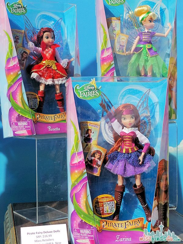 Disney Pirate Fairy Merchandise Deluxe Dolls Mass Retailers