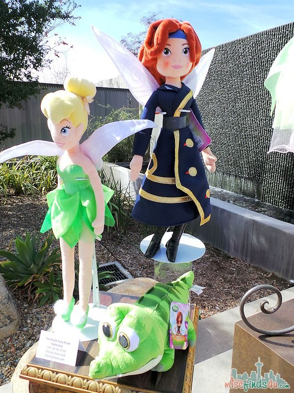 Disney Pirate Fairy Merchandise Plush Dolls
