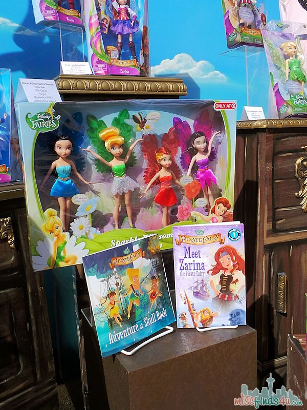 Disney Pirate Fairy Merchandise - books and dolls