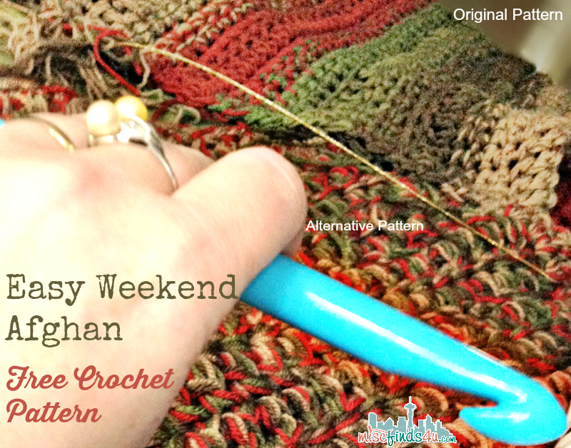 Free Afghan Patterns Crochet Quick Easy : Free Pattern: Fast and Easy Crochet Throw (2 Stripe Options)