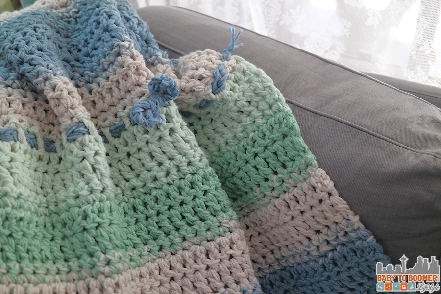 Easy Weekend Afghan - New Color Combination