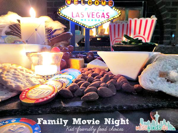 Party Ideas for Movie Night at Home – Viva Las Vegas #MovieLoversSweeps @WorldMarket - ad - Las Vegas Theme Kid Friendly Choices