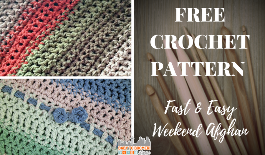 Free Crochet Pattern: Fast and Easy Weekend Afghan