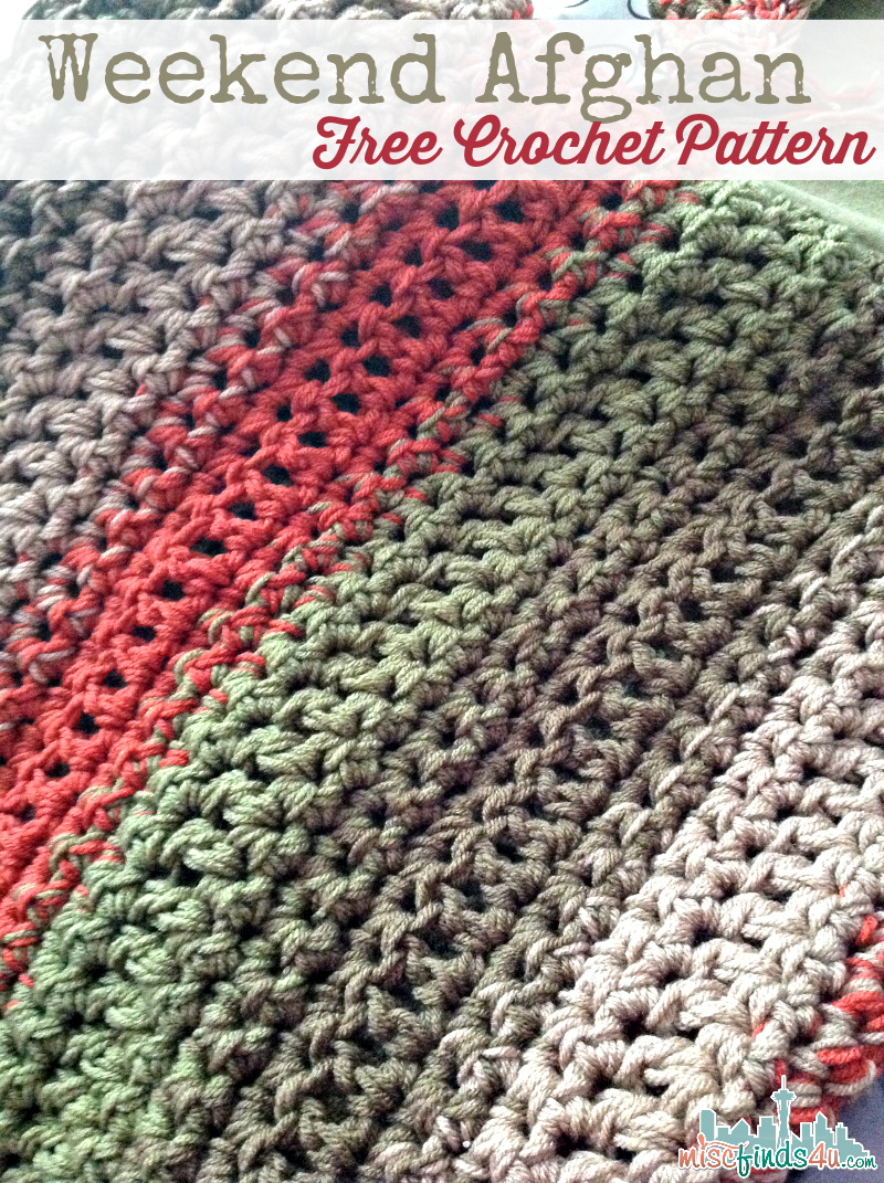 Crochet Patterns Throws : Home ? Crochet ? Free Pattern: Fast and Easy Crochet Throw (2 Stripe ...