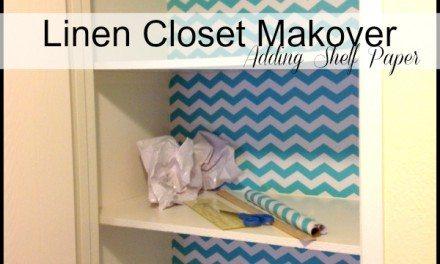 Linen Closet Makeover for Under $15