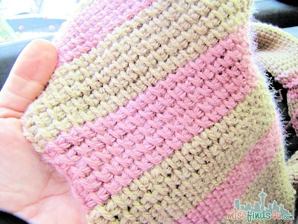 Tunisian Crochet Free Infinity Scarf Pattern Baby To Boomer Lifestyle