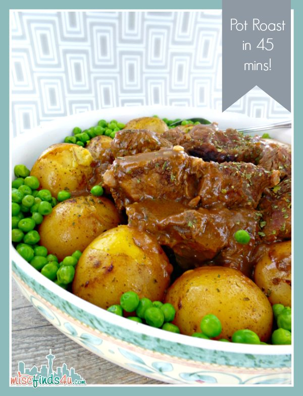 Weeknight Post Roast - 45 Minute Pressure Cooker Recipe