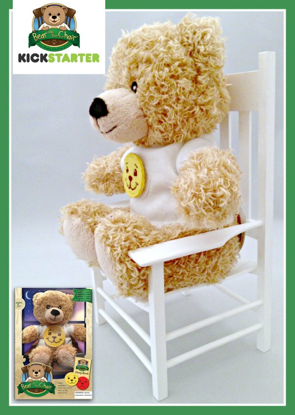 Bear on the Chair Kickstarter Campaign - #bearonachair ad