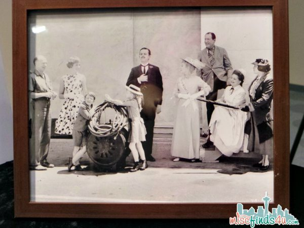 Behind the Scenes MARY POPPINS Photograph Displayed at the Walt Disney Archive - - ad #piratefairybloggers