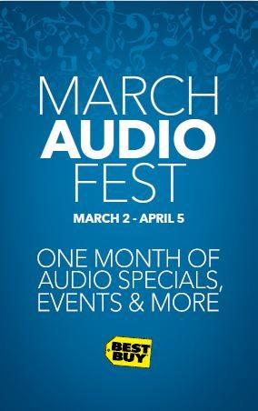 Audio Fest happening now at Best Buy! #AudioFest @BestBuy @BestBuyWOLF