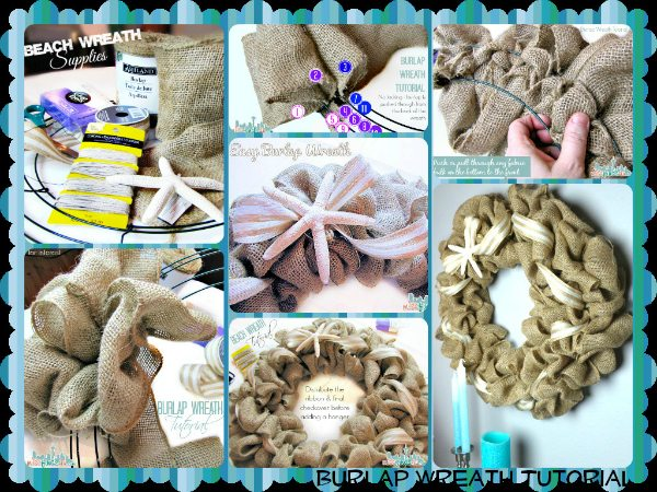 Burlap Wreath Tutorial and DIY