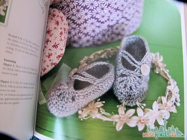 Crochet at Play booties pattern - ad