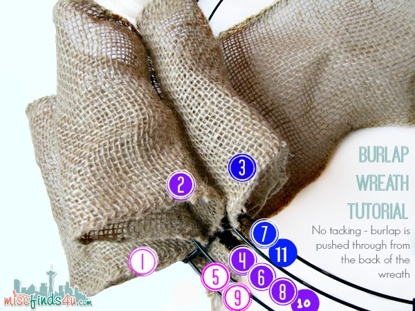 Diy Burlap Wreath Tutorial Beach Theme