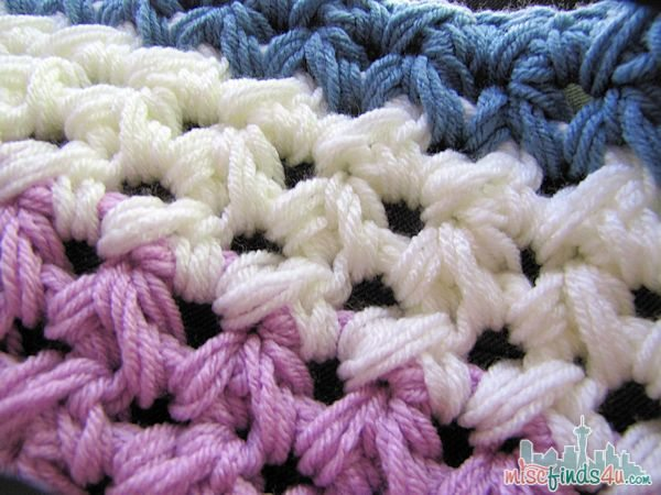 Easy Weekend Crochet Afghan Free Pattern - Baby to Boomer Lifestyle