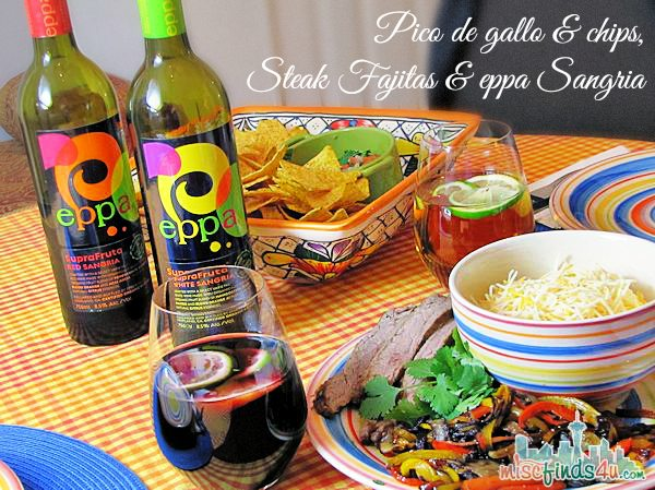 Eppa SupraFruta Sangria - #MC - sponsored - Romantic Dinner for Two