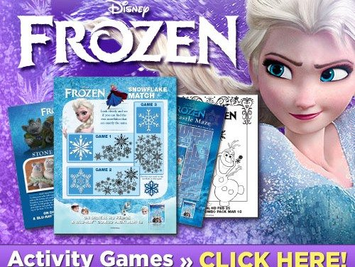 Disney FROZEN Free Printables: Plus Our Picks for Great Frozen Craft Sets