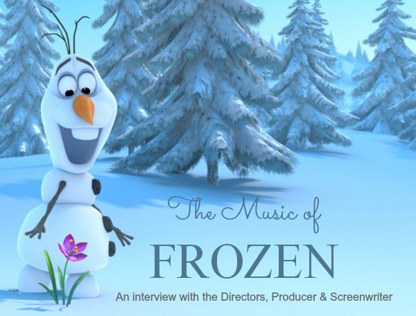 FROZEN - Interview about the Music and Stars of Disney's Animated Film - #piratefairybloggers ad